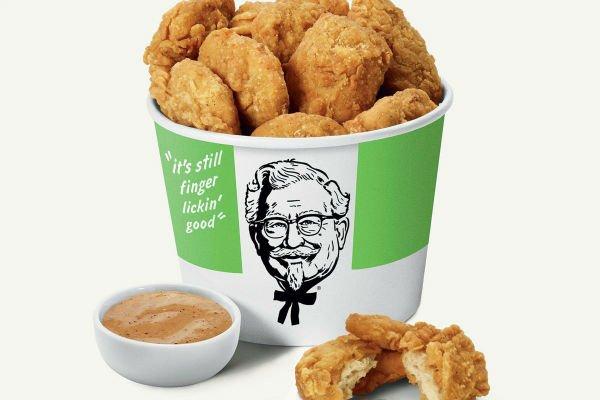 مرغ گیاهی، محصول جدید شرکت KFC