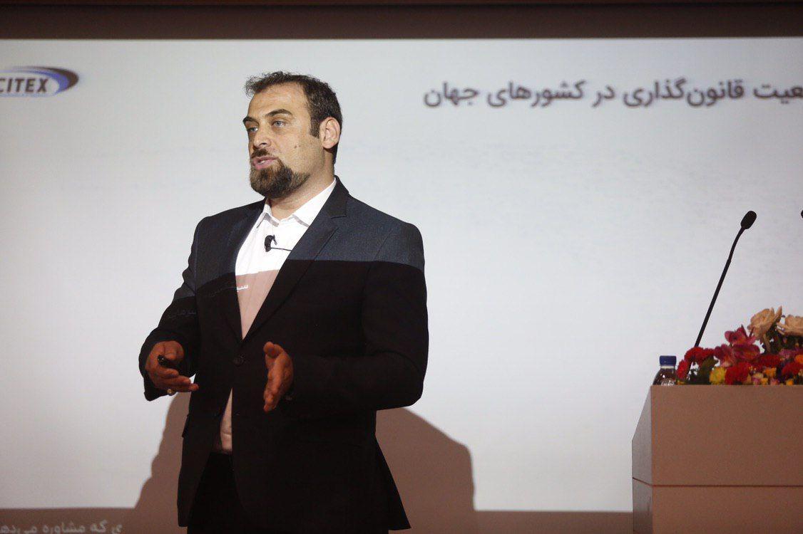 رگ تک در ایران