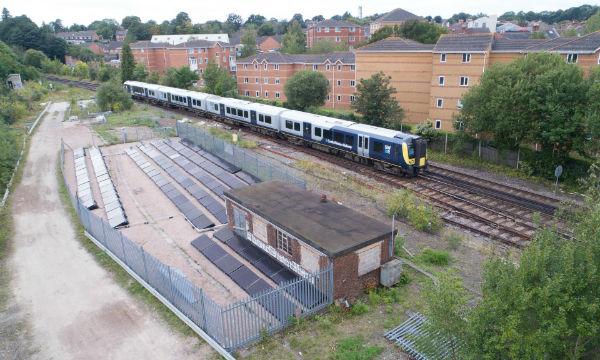 راهاندازی اولین خط راهآهن مبتنی بر انرژی خورشیدی
