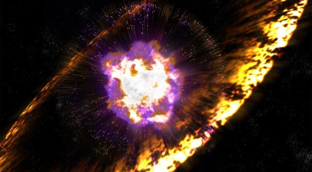 انفجار ابرنواختری