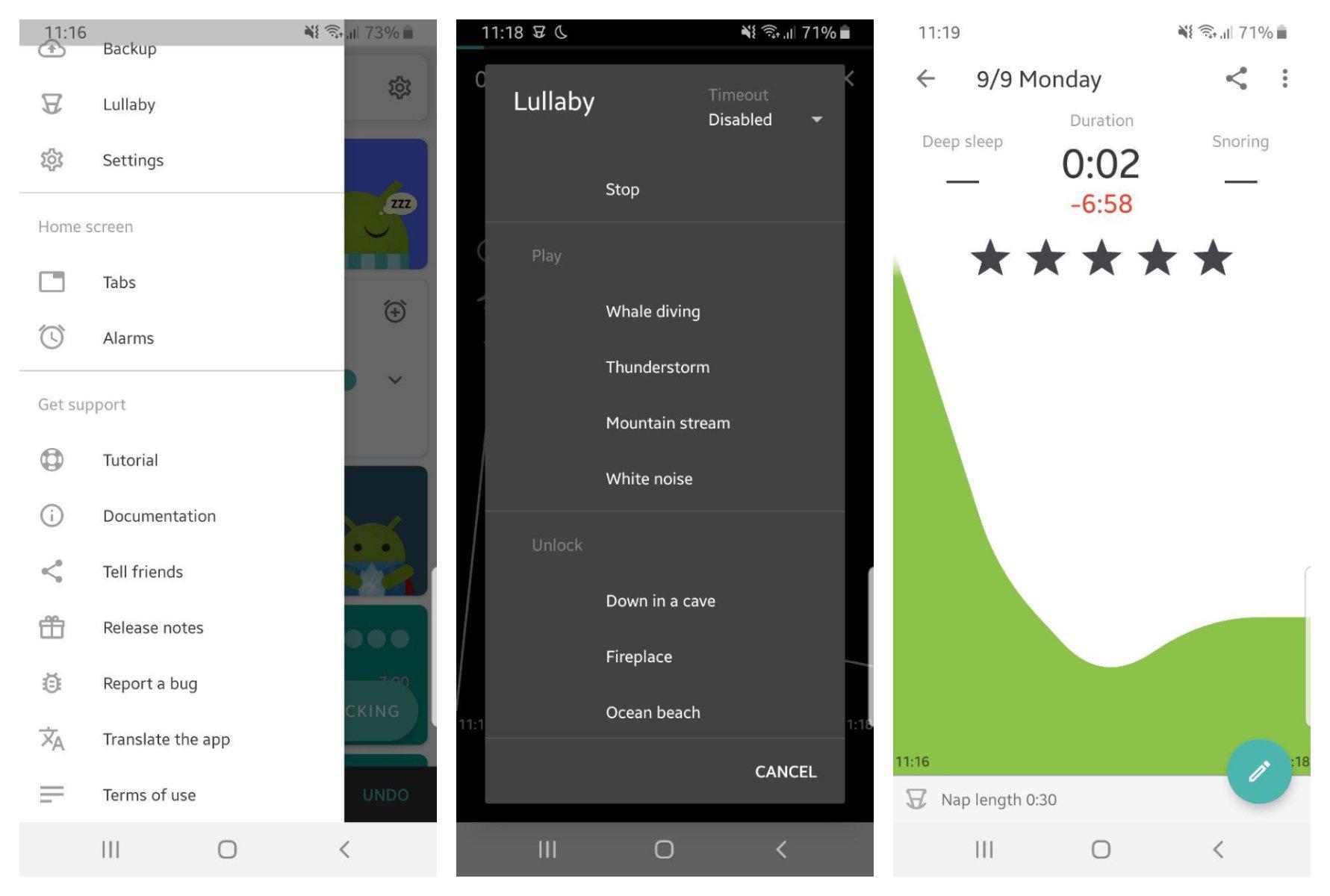 اپلیکیشن Sleep as Android