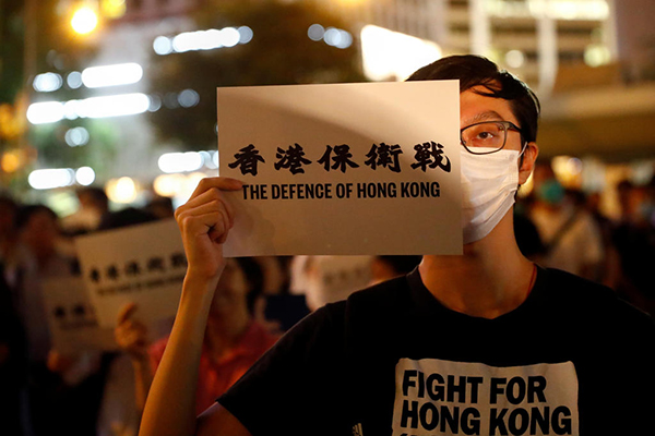 معترضان سیاسی هنگ کنگ