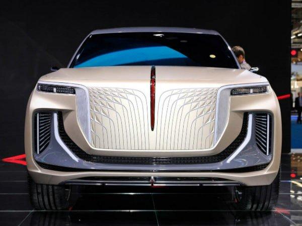 90e55676 hongqi e115 concept at 2019 frankfurt motor show 1 600x450 معرفی هونگچی E HS9؛ کپی برقی زشت از رولزرویس کالینان اخبار IT
