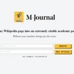 این وبسایت صفحات ویکی پدیا را به مقالات علمی معتبر تبدیل می کند