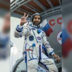 نخستین فضانورد عرب قدم به ایستگاه فضایی بین المللی گذاشت