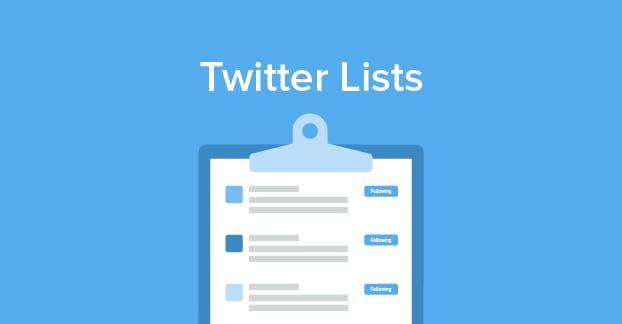 لیست توییتر
