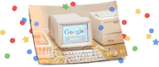 تولد گوگل 27 سپتامبر 2019 برگزار شد و این شرکت 21 ساله شد