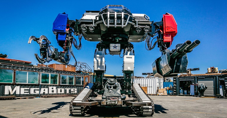 ربات شرکت مگاباتس به نام ایگل پرایم در ای بی حراج شد
