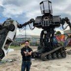 حراج ابر ربات 15 تنی در eBay