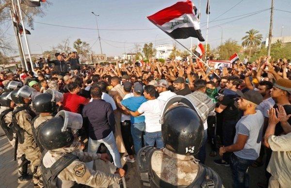 قطعی اینترنت در عراق