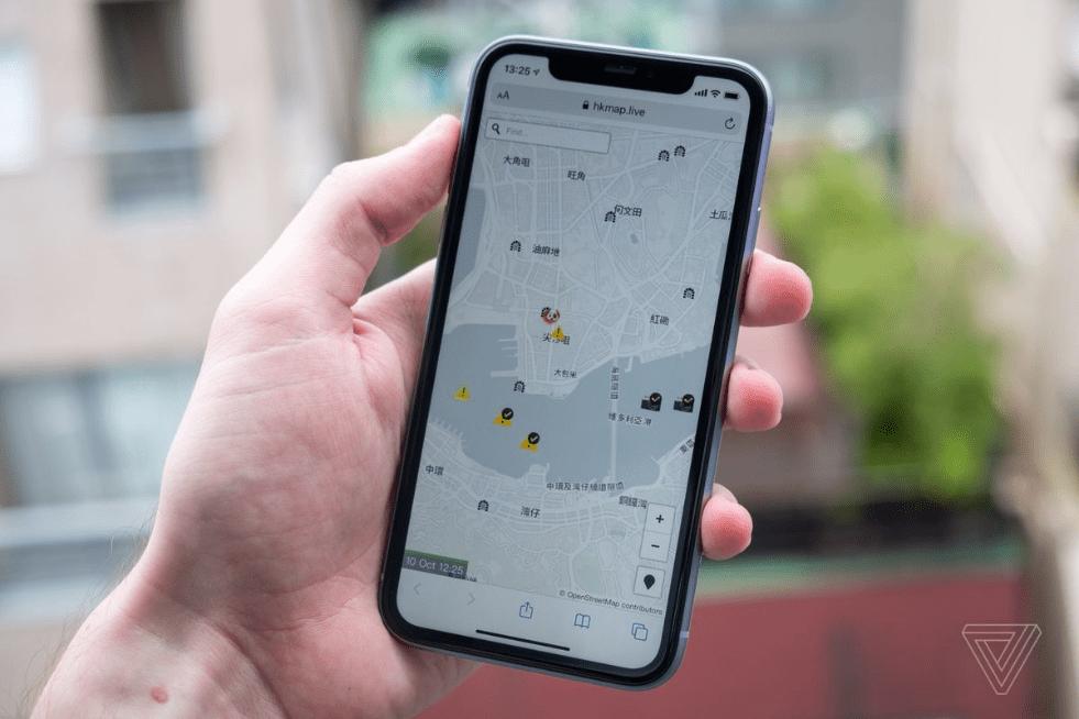 اپل به خاطر فشار چین اپ مسیریابی HKmap.live را از اپ استور حذف کرد