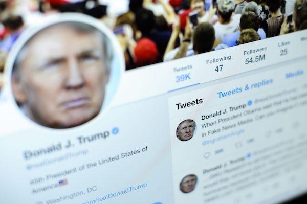 دونالد ترامپ در توییچ