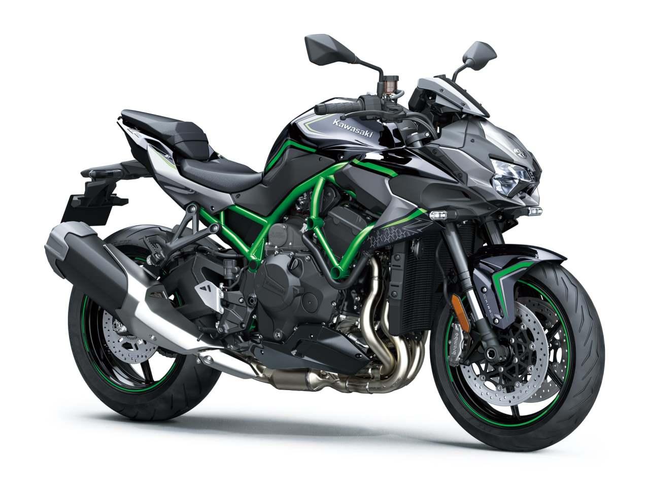موتورسیکلت کاوازاکی Z H2 رونمایی شد