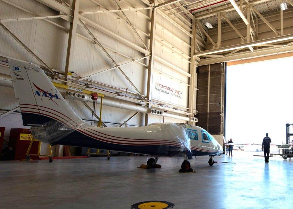 ناسا اولین هواپیمای الکتریکی X-plane را برای آزمایش تحویل گرفت