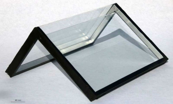 خم کردن شیشه