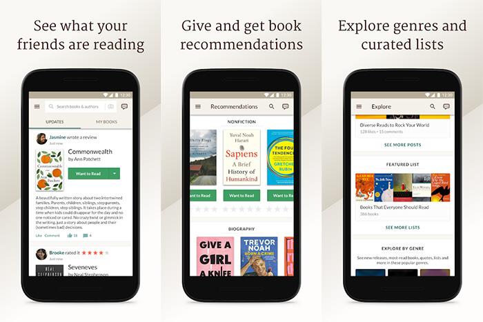 اپلیکیشن های تبادل نظر در مورد کتاب