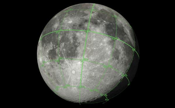 ناسا اطلاعات سهبعدی کامپیوتری ماه را به اشتراک گذاشت