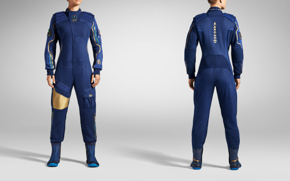 رونمایی ویرجین گالاکتیک و آندر آرمور از لباس فضانوردی جدید