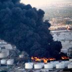 انفجار عظیم کارخانه پتروشیمی در تگزاس و تخلیه مناطق اطراف