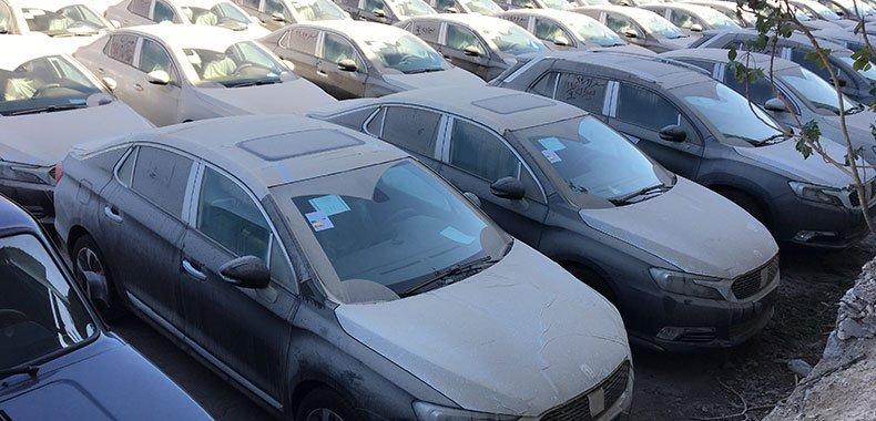 جزئیات تعیین تکلیف خودروهای دپو شده زیر ۲۵۰۰ سیسی