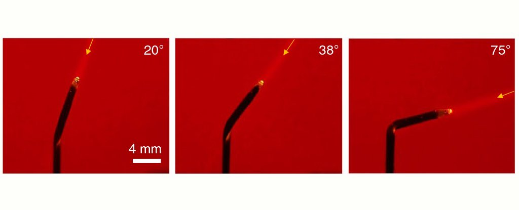 تولید گل آفتابگردان مصنوعی با قابلیت چرخش به سمت نور