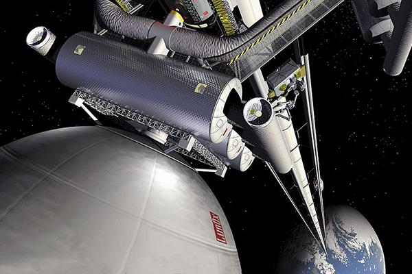آیا ساخت آسانسور فضایی با این همه زباله در مدار زمین ممکن است؟