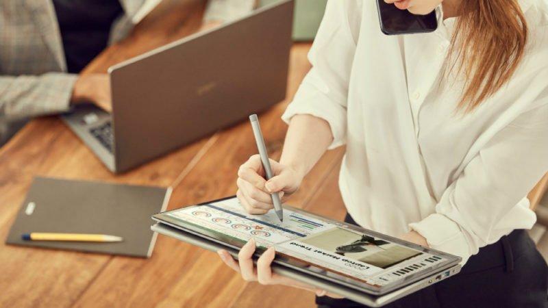 سری جدید لپ تاپ ال جی گرم با پردازنده نسل 10 اینتل معرفی شد