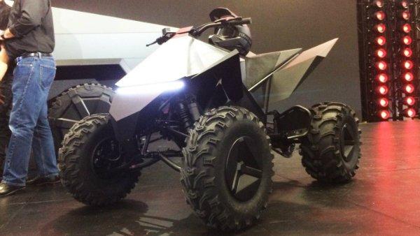 Tesla ATV آپشن تسلا