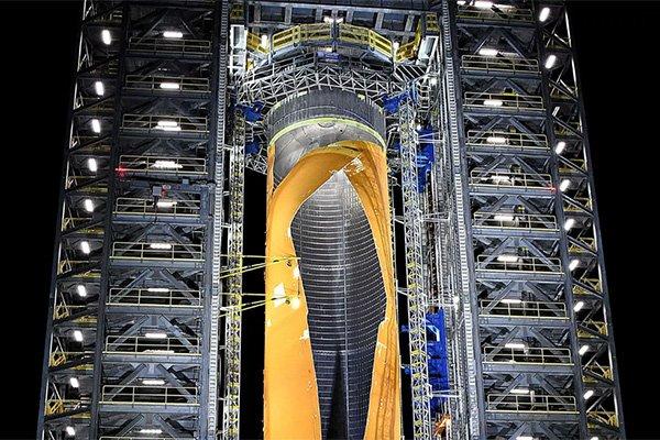 ناسا بزرگ ترین راکت دنیا را در یک آزمایش کنترل شده منفجر کرد [تماشا کنید]