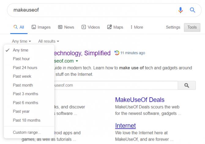 شخصی سازی نتایج جتسجوی گوگل