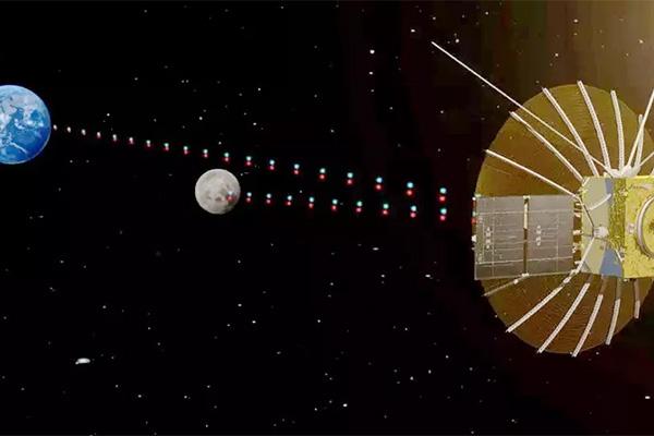 استقرار تلسکوپ رادیویی NCLE در نیمه پنهان ماه