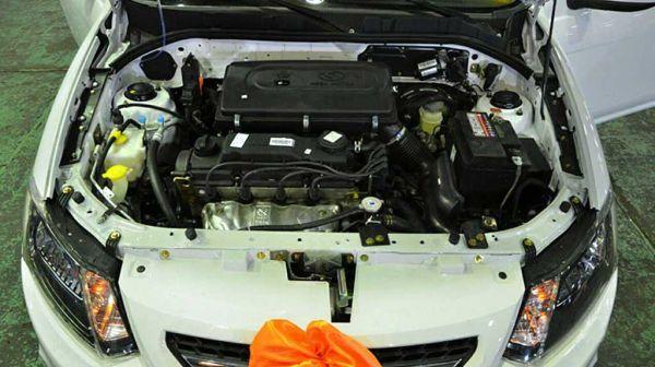 موتور ساینا تیبا