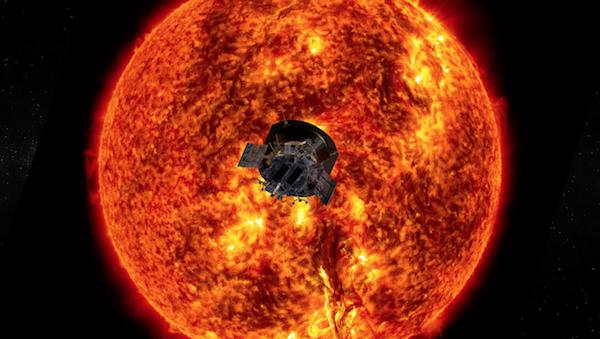 کاوشگر پارکر نخستین اطلاعات خود از خورشید را به زمین مخابره کرد