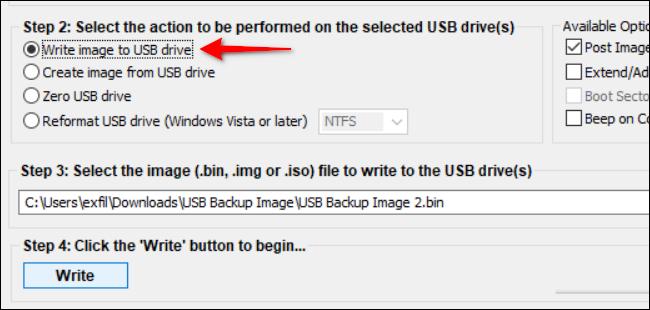ایمیج گرفتن از درایو یو اس بی USB