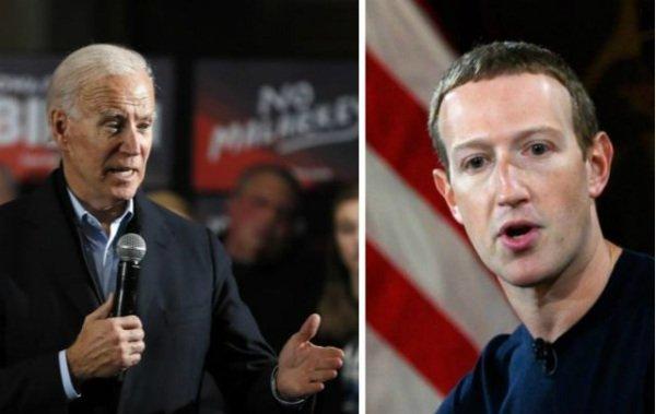 حمله نامزد ریاست جمهوری آمریکا به فیسبوک: آگاهانه دروغ پخش میکنید