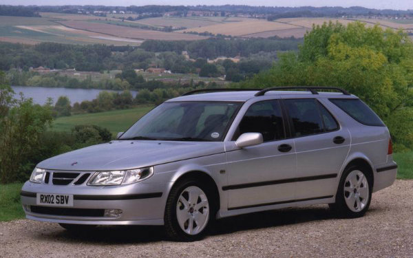 خودروهای ارزان تر از پراید-saab_9-5_estate_0