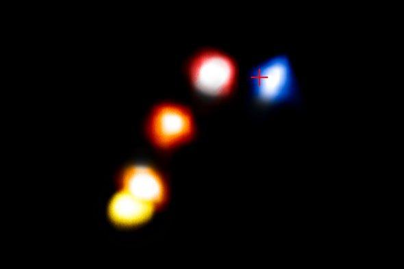 کشف اجرام آسمانی مرموز در مجاورت ابر سیاهچاله راه شیری