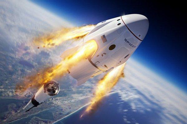 اسپیس ایکس سامانه لغو پرتاب کپسول کرو دراگون را با موفقیت آزمایش کرد