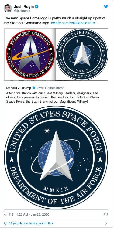 لوگوی نیروی فضایی آمریکا