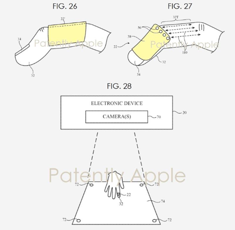 پتنت جدید اپل یک وسیله بندانگشتی برای کنترل اجسام در واقعیت افزوده را نشان می دهد