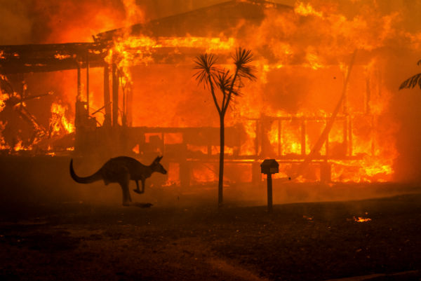 آتش سوزی استرالیا