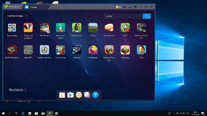 اجرای بازی های اندروید روی کامپیوتر
