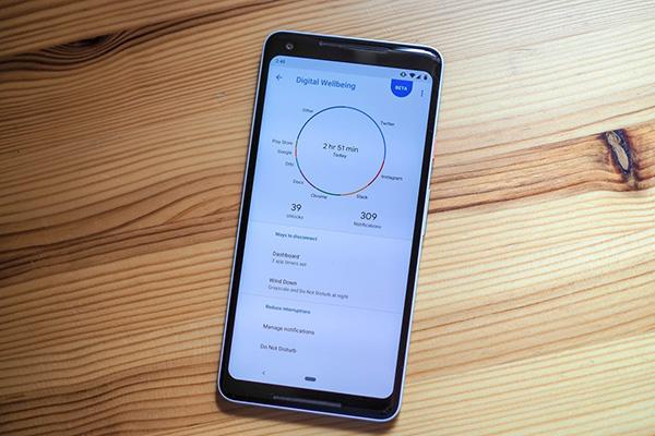 جعبه ابزار؛ مدیریت استفاده از تلفن همراه با اپلیکیشنهای سلامت دیجیتال گوگل