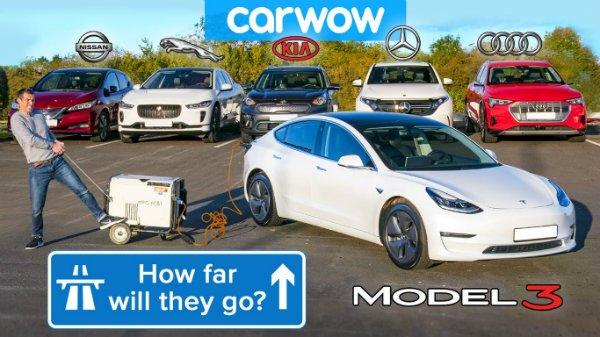 مقایسه مسافت قابل پیمایش خودروهای برقی در شرایط واقعی؛ نبردی تازه در دنیای خودروسازی