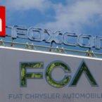 همکاری فیات کرایسلر و فاکسکان برای تولید خودروهای برقی
