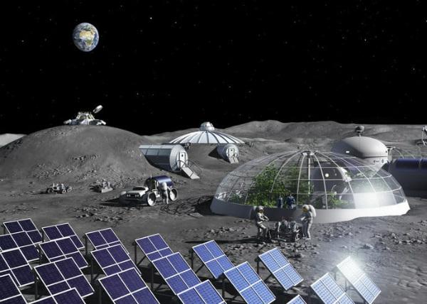 استخراج اکسیژن از غبار ماه