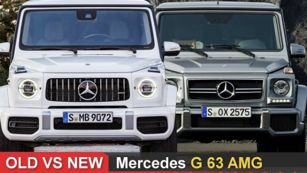 مقایسه دو نسل از مرسدس AMG G63