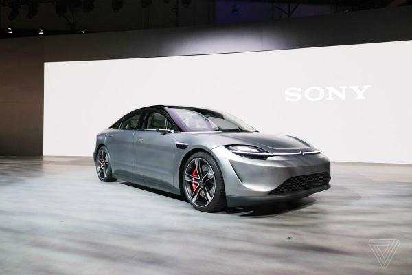 سورپرایز سونی در CES؛ رونمایی از خودرو به جای پلی استیشن ۵