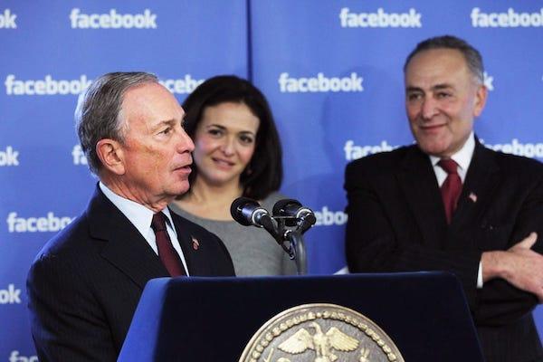 ۱.۵ میلیارد تبلیغ، ۴۵ میلیون دلار هزینه؛ حضور انتخاباتی پررنگ مایکل بلومبرگ در فیسبوک