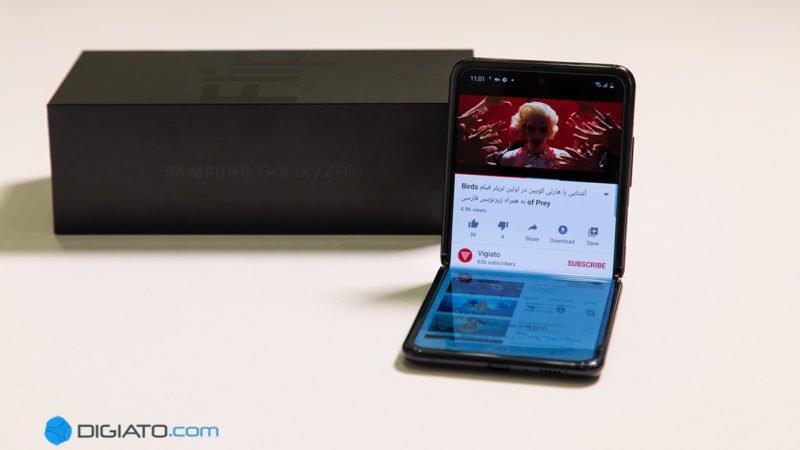 گلکسی زد فلیپ پرفروشترین موبایل تاشوی سال ۲۰۲۰ بوده است